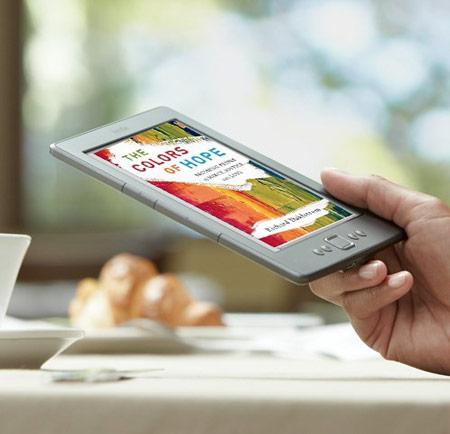 В цветной электронной книге Amazon будет использован экран производства E Ink Holdings