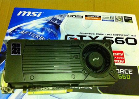 3D-карты GeForce GTX 660 можно будет увидеть уже на следующей неделе