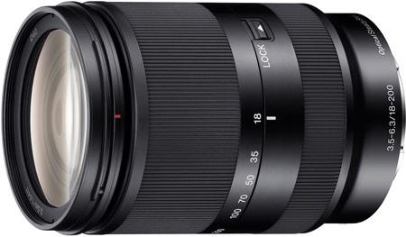 Sony анонсировала выпуск объектива SEL18200LE E18-200mm F3.5-6.3 OSS LE