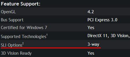 NVIDIA заблокировала поддержку 4-way SLI в GeForce GTX 670, но позже может ее включить