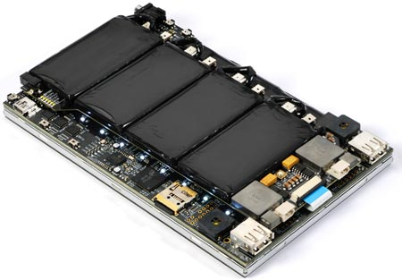 Liquidware Amber — «полуфабрикат» семидюймового планшета с ОС Android