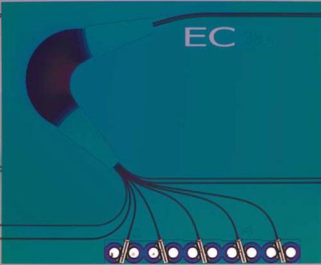 OneChip использует фотонику в микросхемах приемников 40GBASE-LR4 и 100GBASE-LR4
