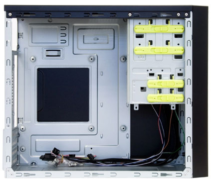Корпус CHIEFTEC Mesh CT-01B рассчитан на системные платы типоразмера mATX