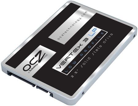 Накопители OCZ Vertex 3 LP ориентированы на применение в ультрабуках, планшетах и других тонких компьютерах