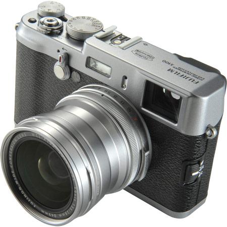 Fujifilm анонсирует широкоугольный конвертор для камеры FinePix X100