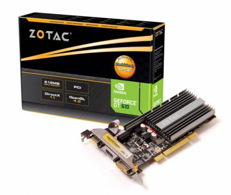 ZOTAC ����������� 3D-����� ����� GeForce 600