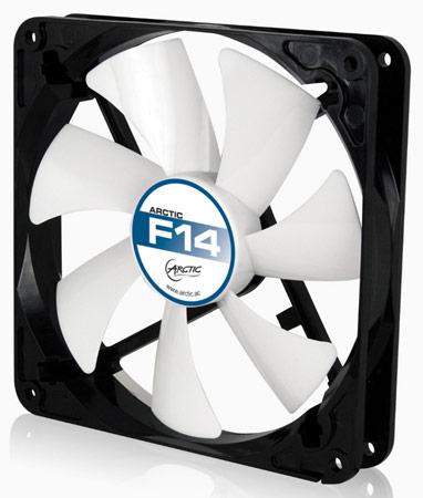 Arctic использует в корпусных вентиляторах F14 и F14 PWM гидродинамические подшипники