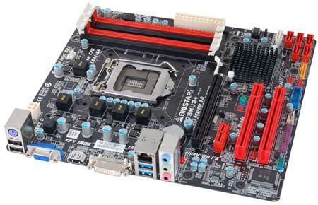 Основой системных плат BIOSTAR B75MU3+ стал чипсет Intel B75 Express