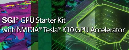 Ассортимент SGI пополнил продукт под названием GPU Starter Kit with NVIDIA Tesla K10