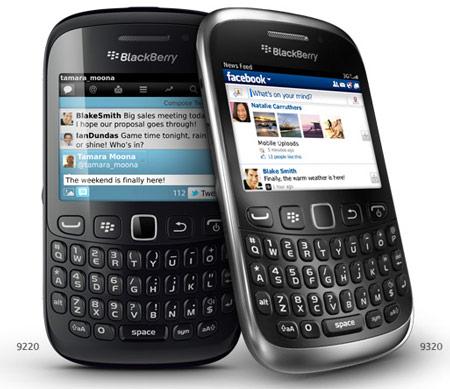Цена BlackBerry Curve 9320 — $210