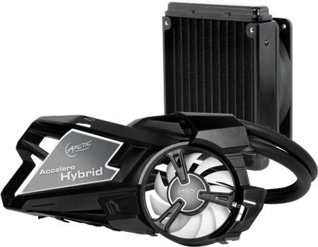Продажи охладителя Arctic Accelero Hybrid начнутся в конце мая