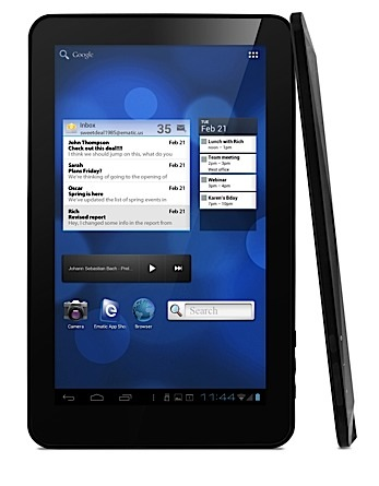 Ematic eGlide XL Pro — 10-дюймовый планшет с Android 4.0 за $220