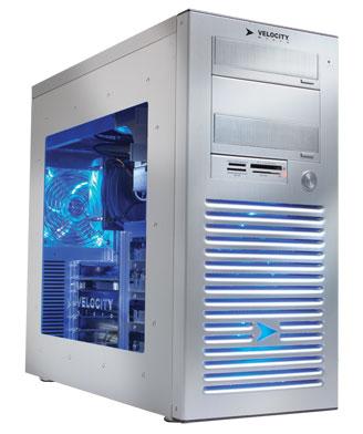 Основой игрового ПК Raptor Z90 может служить процессор Intel Core i7-3770K, разогнанный до 4,7 ГГц