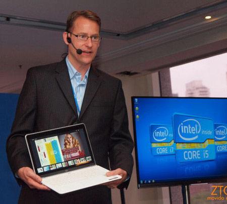 Ультрабук с сенсорным экраном и Windows 8 показан на IDF 2012