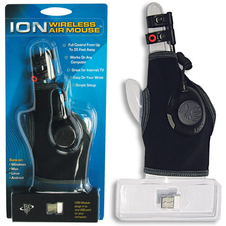 ���� Ion 3D Wireless Air Mouse Glove � $79,95