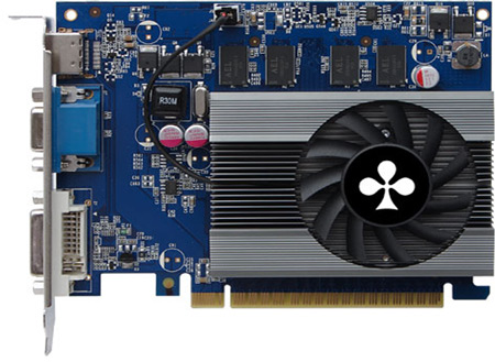 Club 3D �������� ��� ������ GeForce GT 620 � ����� 3D-���� GeForce GT 600