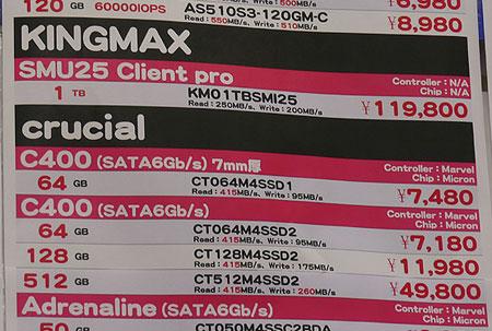 SSD KINGMAX SMU25 Client Pro объемом 1 ТБ оценен в Японии в $1500