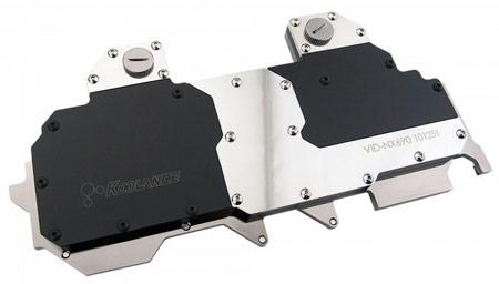 Koolance начинает продажи водоблоков для GeForce GTX 690