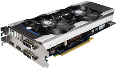 3D-карта KFA2 GeForce GTX 670 EX OC разогнана производителем