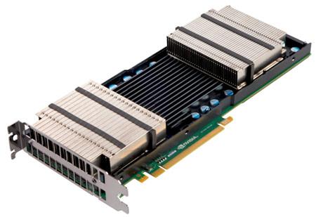 NVIDIA представила GPU Tesla на архитектуре Kepler