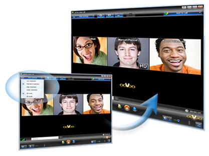 Скриншот окна программы ooVoo