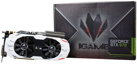 Colorful готовит к выпуску 3D-карту GeForce GTX 670 iGame Edition