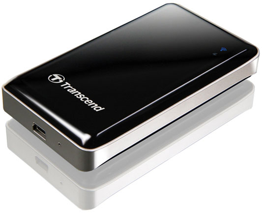 Transcend ����������� ����� ������������� SSD StoreJet Cloud Wireless �� 128 ��