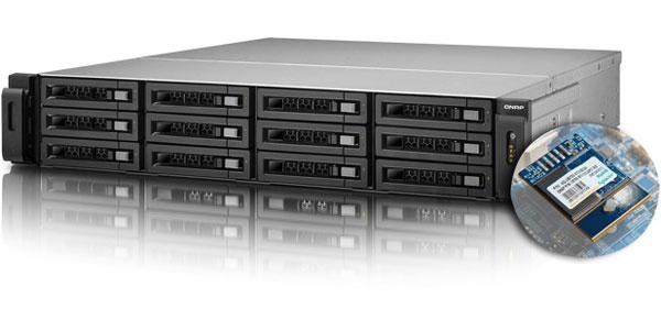 � �������� ���������� QNAP TS-x79 ���� ���������� ����� ��������� SSD ������������ Apacer � ����������� USB