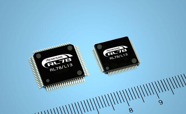 ����������� Renesas Electronics RL78/L13 ������������ �������� ������� ����� ��������� ��-��������