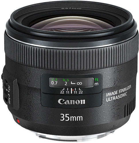 ��������������� ���� ��������� Canon EF 35mm f/2 IS USM � ��� � 850 ��������