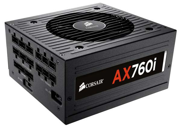 Компания Corsair представила блоки питания AX860i, AX760i, AX860 и AX760