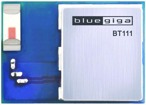 Bluegiga BT111 относится к категории модулей для человеко-компьютерного взаимодействия