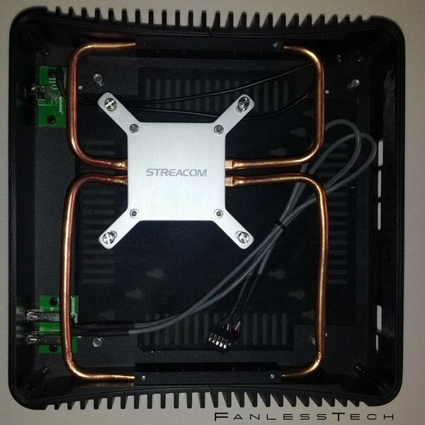 Корпус Streacom FC2 рассчитан на платы типоразмера mini-ITX