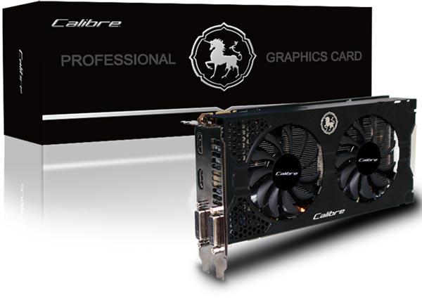 3D-����� Sparkle Calibre X660 Dual Fan ��������� � ��������� ��������