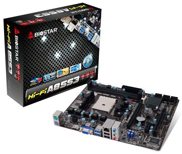 Основой Hi-Fi A85S3 служит набор системной логики AMD A85X