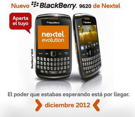 �������� BlackBerry Patagonia 9620 ������������ �� ����� Nextel