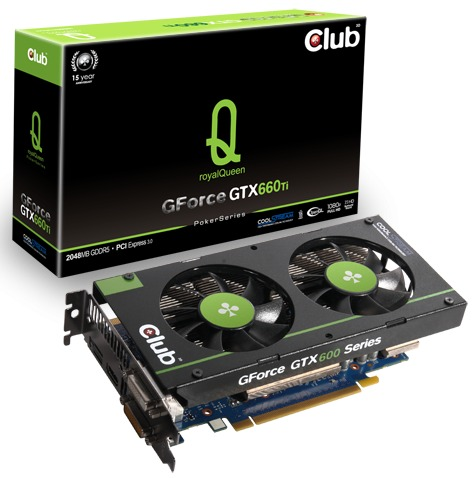 В каталоге Club 3D появились 3D-карты GeForce GTX 670 royalQueen и GTX 660 Ti royalQueen