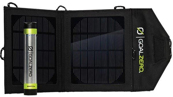 Цена Goal Zero Switch 8 Solar Recharging Kit — $120