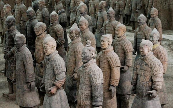 В продаже замечены флэш-накопители в форме воинов Терракотовой армии