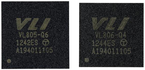 Поставки контроллеров VIA VL805 и VL806, сертифицированных USB-IF, уже начались