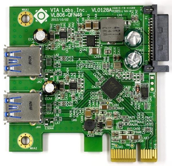 �������� ������������ VIA VL805 � VL806, ����������������� USB-IF, ��� ��������