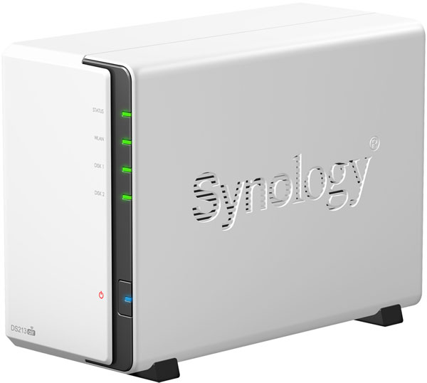 ��������� ��������� Synology DiskStation DS213air �������� �� ������� 1,6 ���