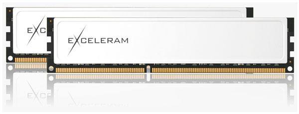 Серия Exceleram X включает восемь модулей и три набора модулей DDR3