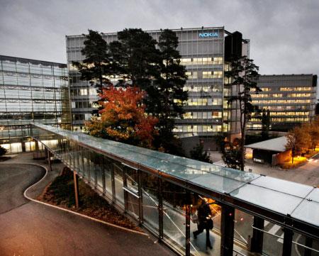 Стоимость штаб-квартиры Nokia составляет 200-300 млн. евро