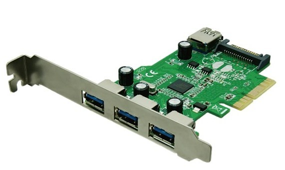 Ассортимент AREA пополнили карты расширения с портами USB 3.0 и SATA 6 Гбит/с