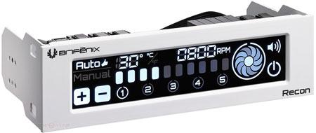 BitFenix окрашивает контроллер Recon и вентиляторы Spectre Pro в белый цвет