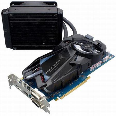 ELSA оснащает 3D-карту GeForce GTX 680 гибридным охладителем