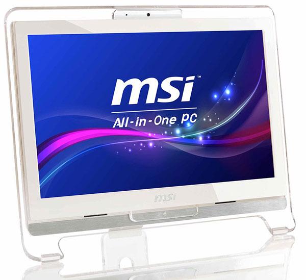 В комплект поставки MSI AE1921 входит мышь и клавиатура