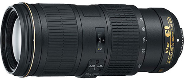 Рекомендованная цена объектива AF-S NIKKOR 70-200mm f/4G ED VR равна $1399