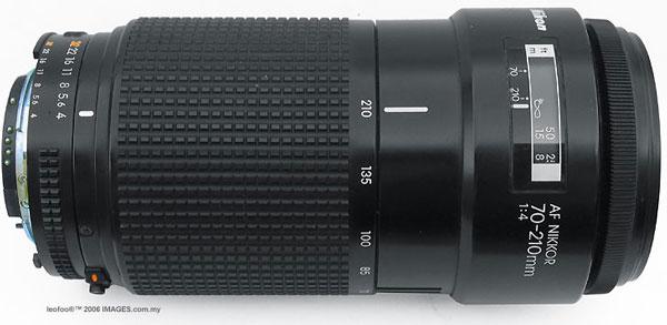 Ориентировочная цена объектива Nikon 70-200mm f/4 VR - $1200